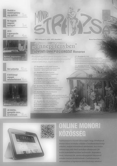 Strázsa újság, 2015 12. szám