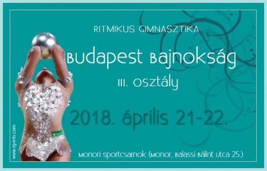 Ritmikus gimnasztika Budapest bajnokság