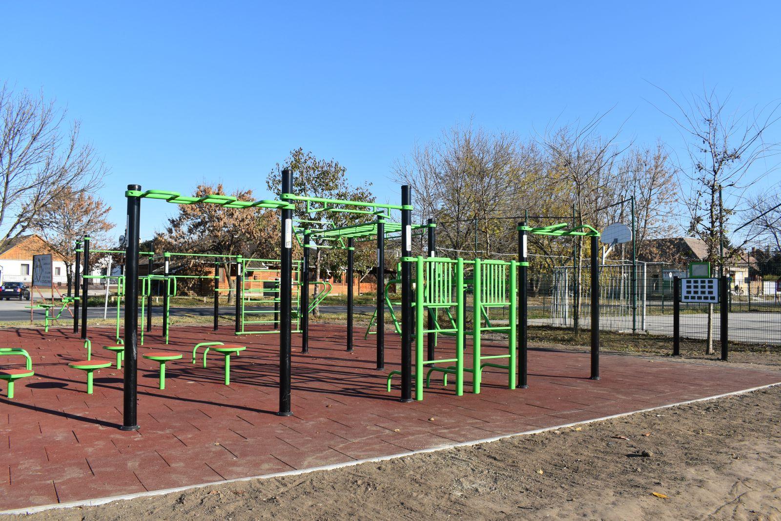 Elkészült az új szabadtéri sportpark