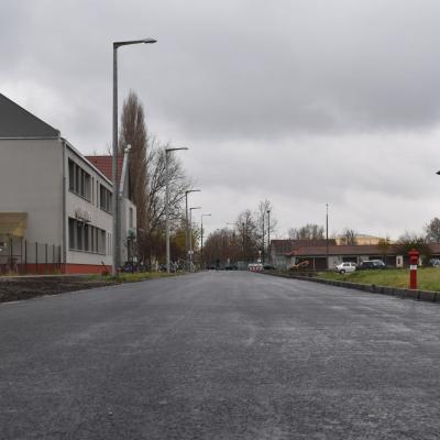Átadták a Balassi utca új szakaszát