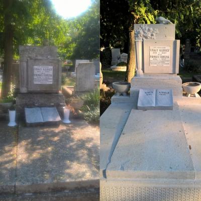 I. világháborús hadisírok újultak meg a monori temetőkben