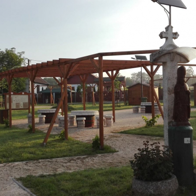 Élménypark és játszótér a Szent Orbán téren