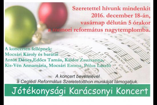 Jótékonysági Karácsonyi Koncert
