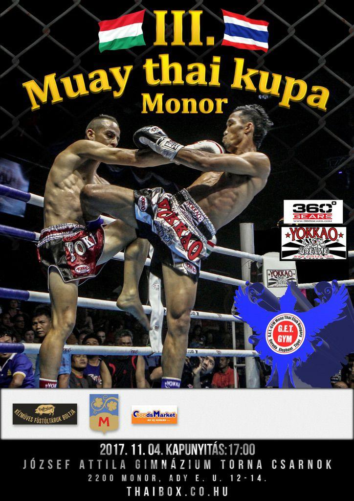 III. Muay thai kupa