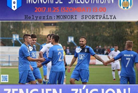 Monori SE - Salgótarján NBIII férfi labdarúgó mérkőzés
