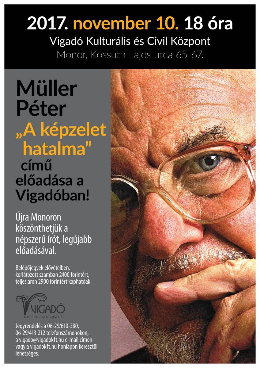 Müller Péter előadása - minden jegy elkelt!