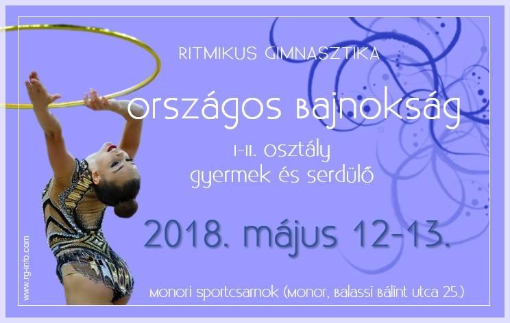Ritmikus Gimnasztika gyermek-serdülő országos bajnokság