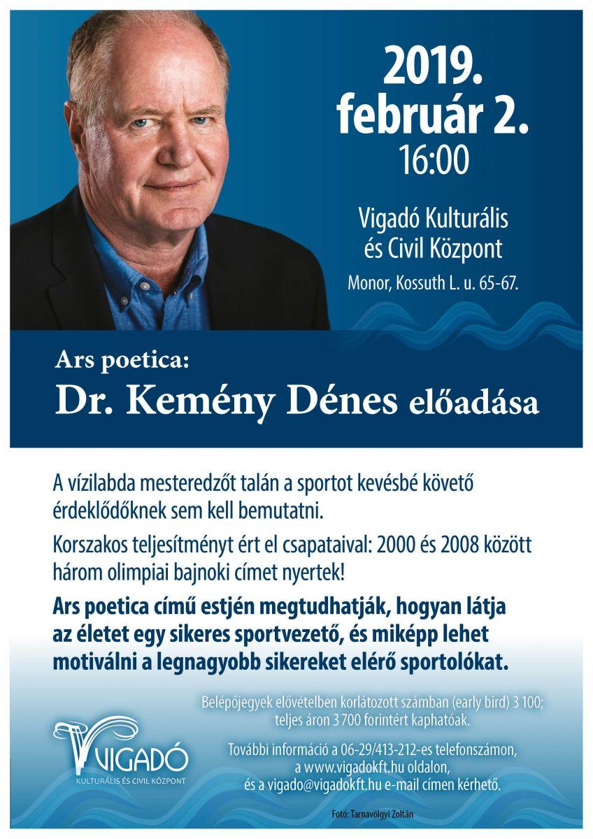 Ars poetica: Dr. Kemény Dénes előadása
