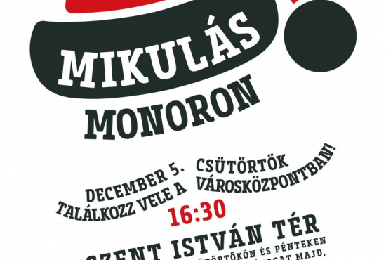 Várjuk együtt Monori Mikulást!