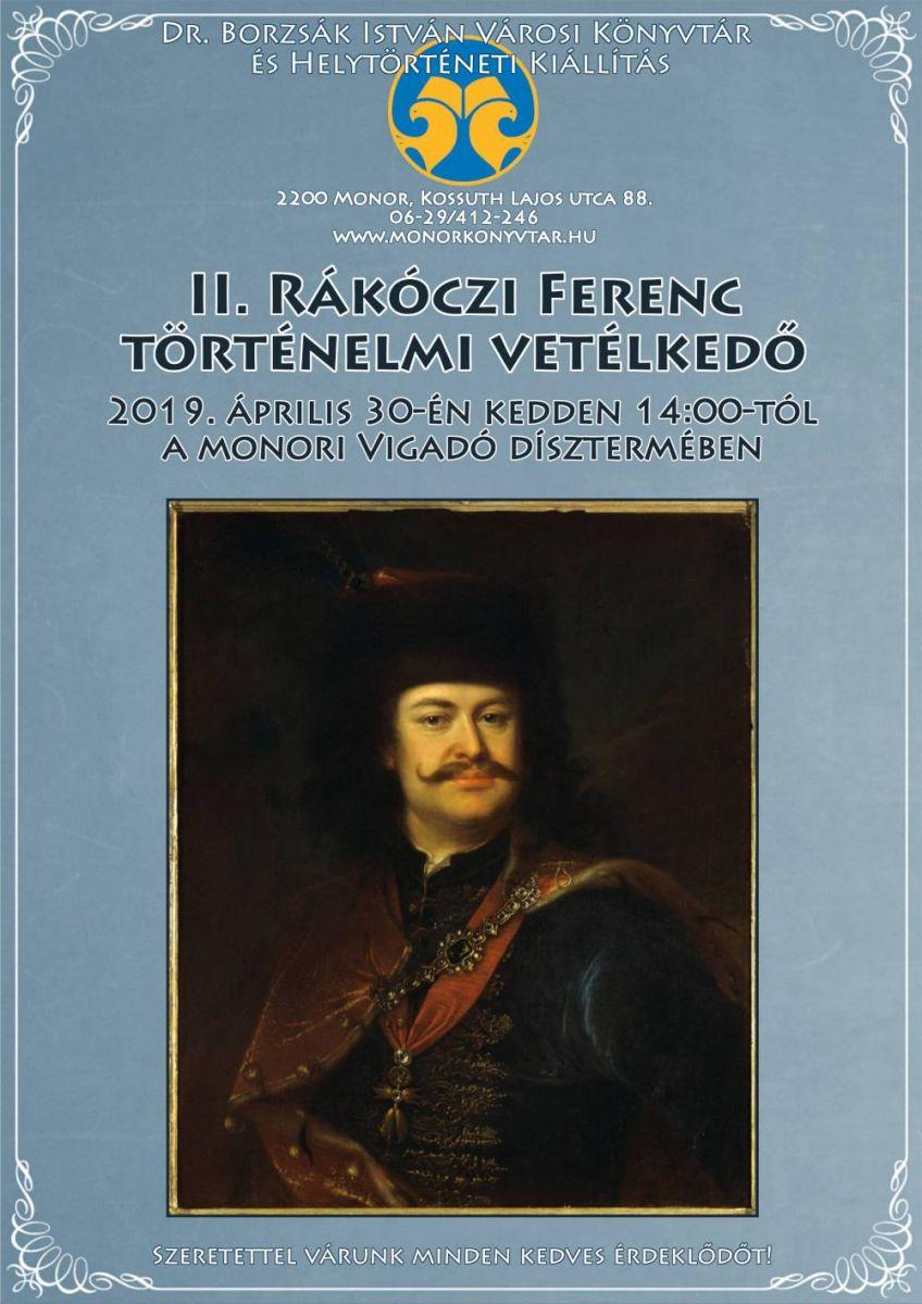 II. Rákóczi Ferenc történelmi vetélkedő