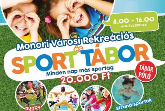 Monor Városi Rekreációs és Sport tábor