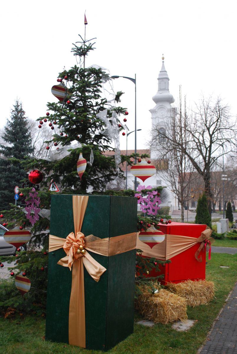 Városi karácsonyi ünnepség