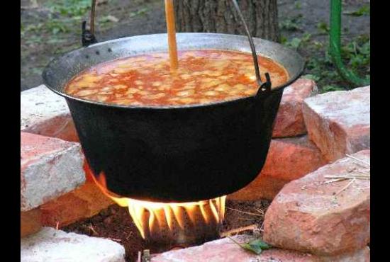 Jótékonysági főzés