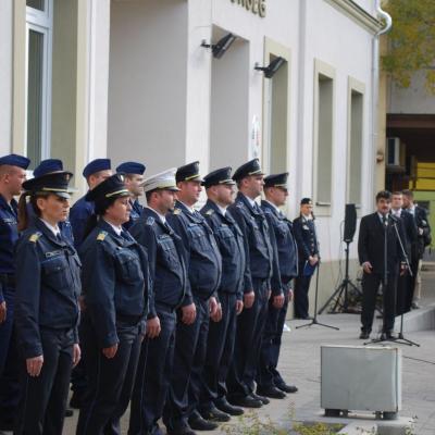 Felújították a Monori Rendőrkapitányság épületét