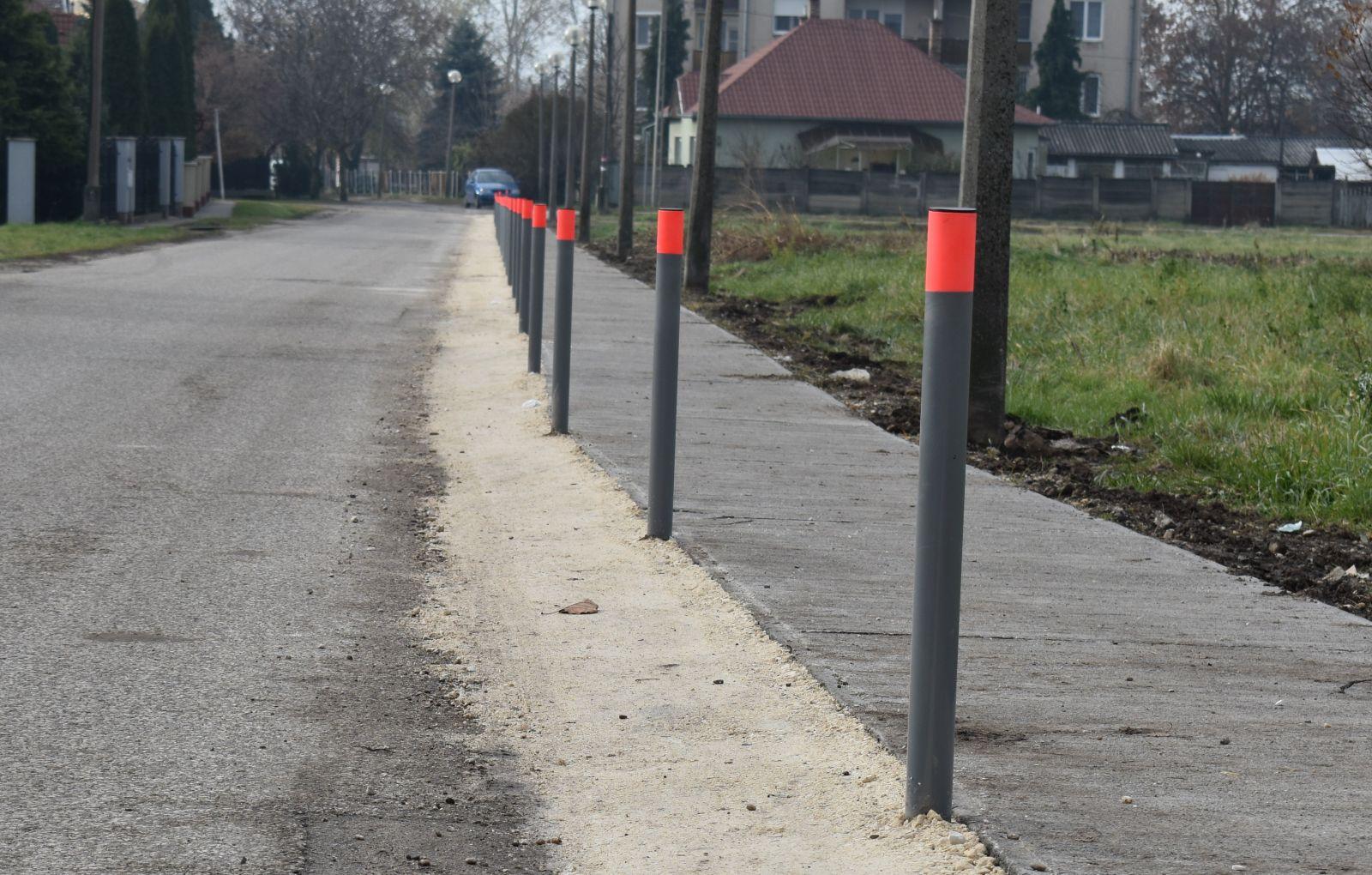 Elkészült a Krúdy utca gyalogjárdája