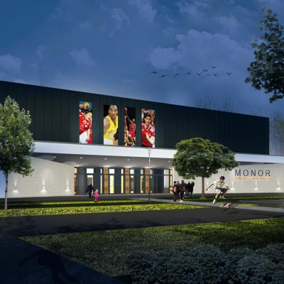 Megkezdődött a városi sportcsarnok kivitelezése