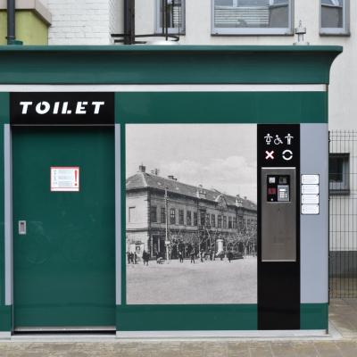 Átadásra kerültek a kültéri mosdók