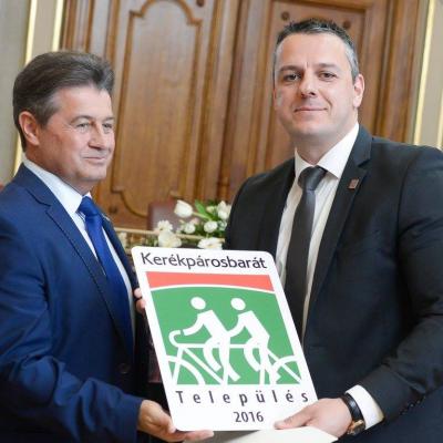 Monor is Kerékpárosbarát Település lett 2016-ban!