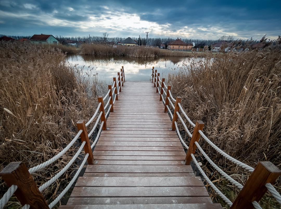 A hónap képe: Monori kis tó - Készítette: Tönköly Tamás
