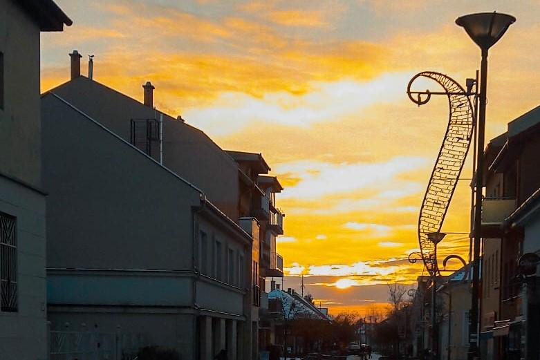 A hónap képe: A lemenő nap - Készítette: Szántay Benedek