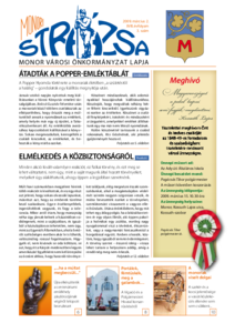 Strázsa újság, 2009 3. szám
