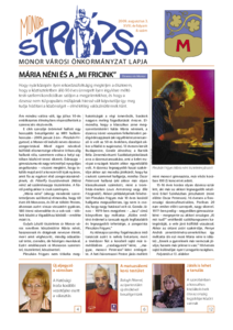 Strázsa újság, 2009 8. szám