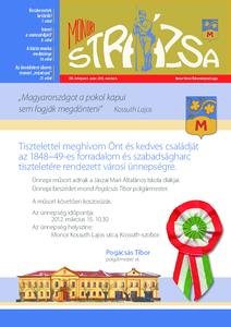 Strázsa újság, 2012 3. szám