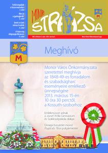 Strázsa újság, 2013 3. szám