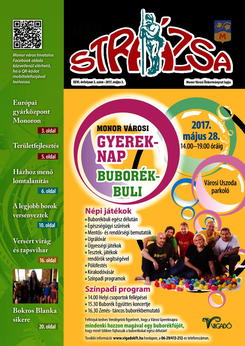 Strázsa újság, 2017 5. szám