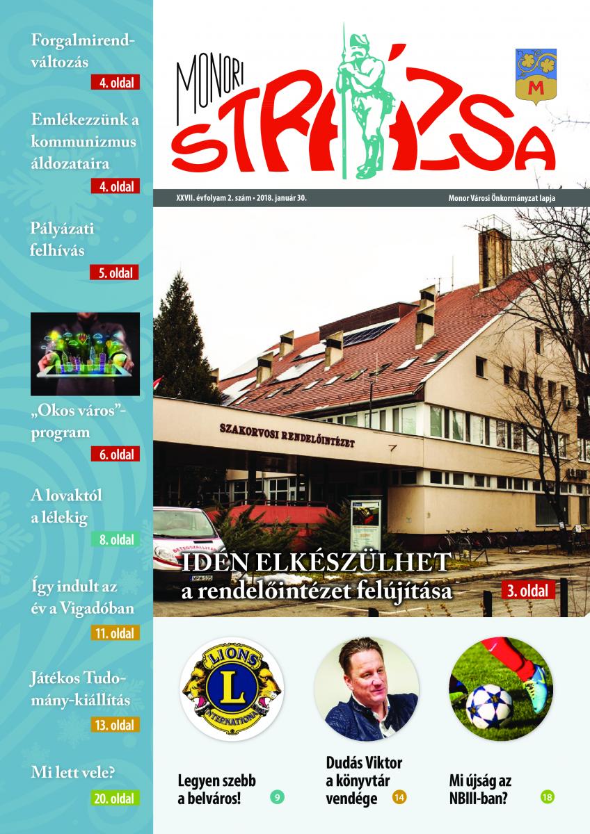 Strázsa újság, 2018 2. szám