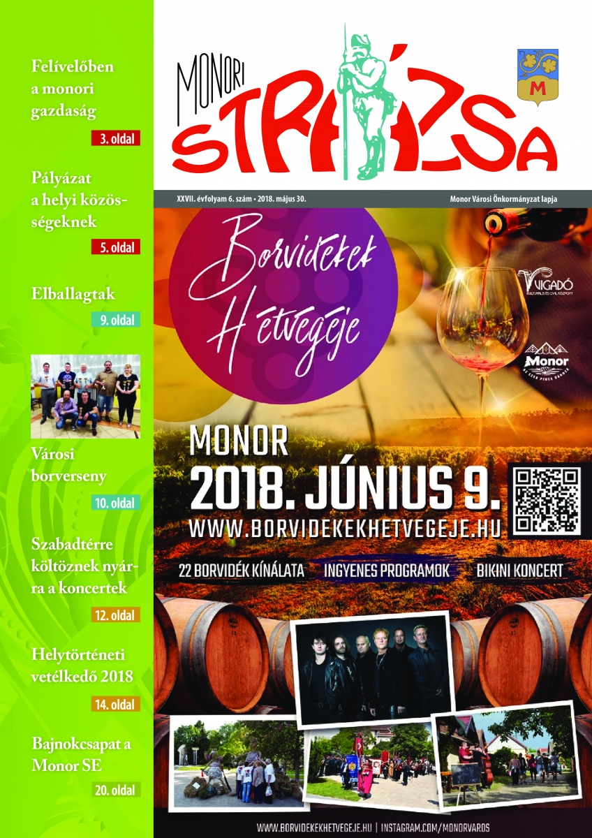 Strázsa újság, 2018 6. szám