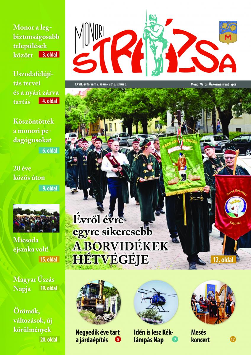 Strázsa újság, 2018 7. szám