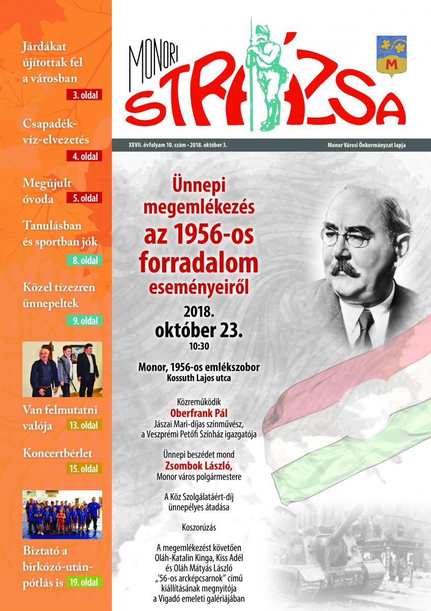 Strázsa újság, 2018 9. szám