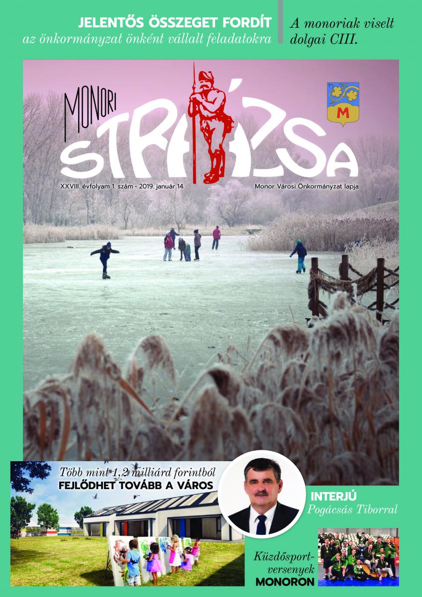 Strázsa újság, 2019 1. szám