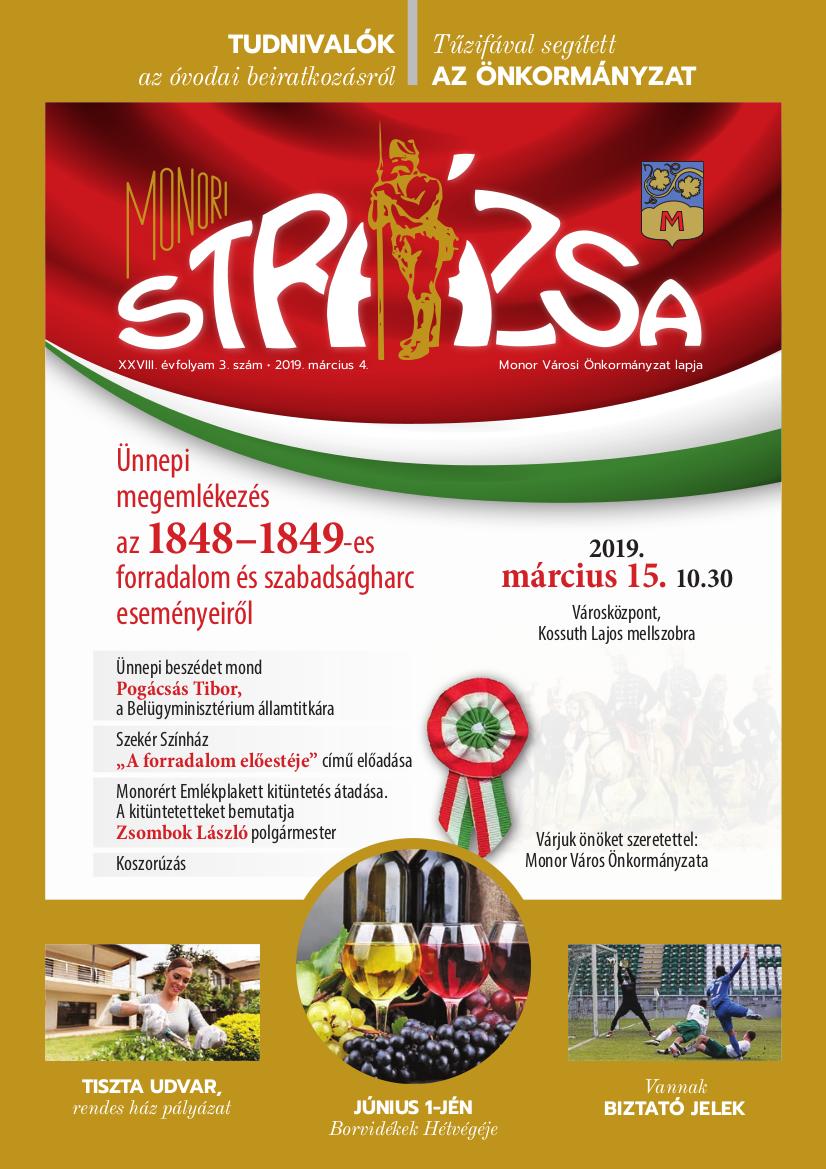 Strázsa újság, 2019 3. szám