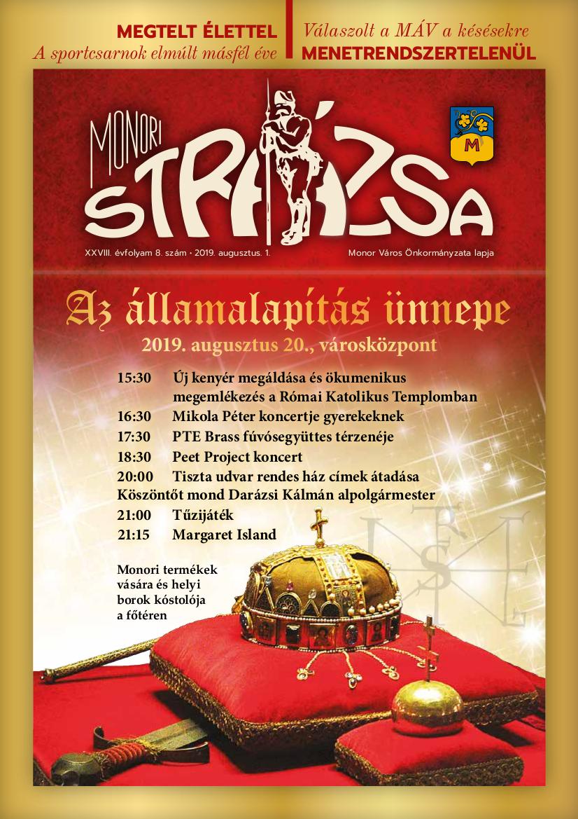 Strázsa újság, 2019 8. szám