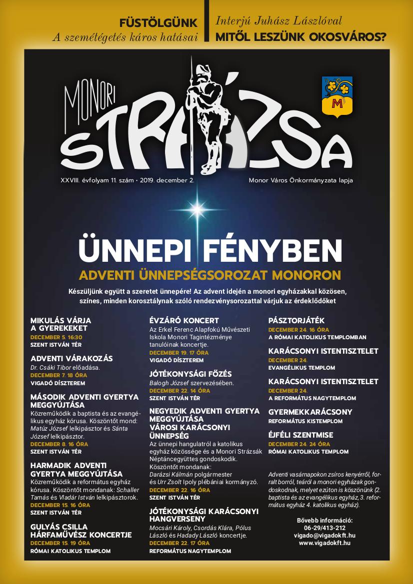 Strázsa újság, 2019 12. szám