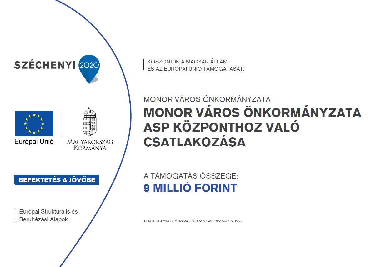Csatlakoztatási konstrukció az önkormányzati ASP rendszer országos kiterjesztéséhez
