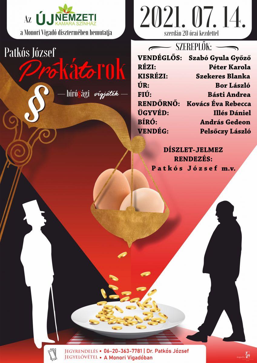 Újra színházi előadás a Vigadóban!
