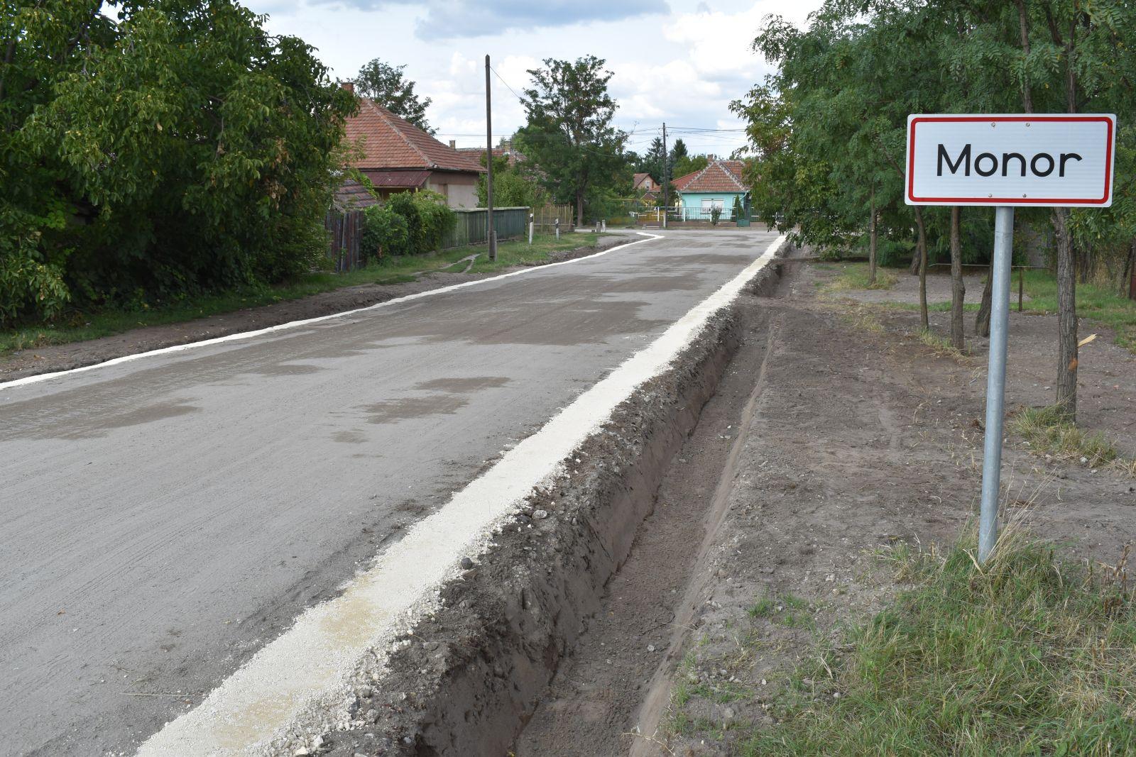 Elkészült a Vasadi és a Lehel közök útstabilizációja