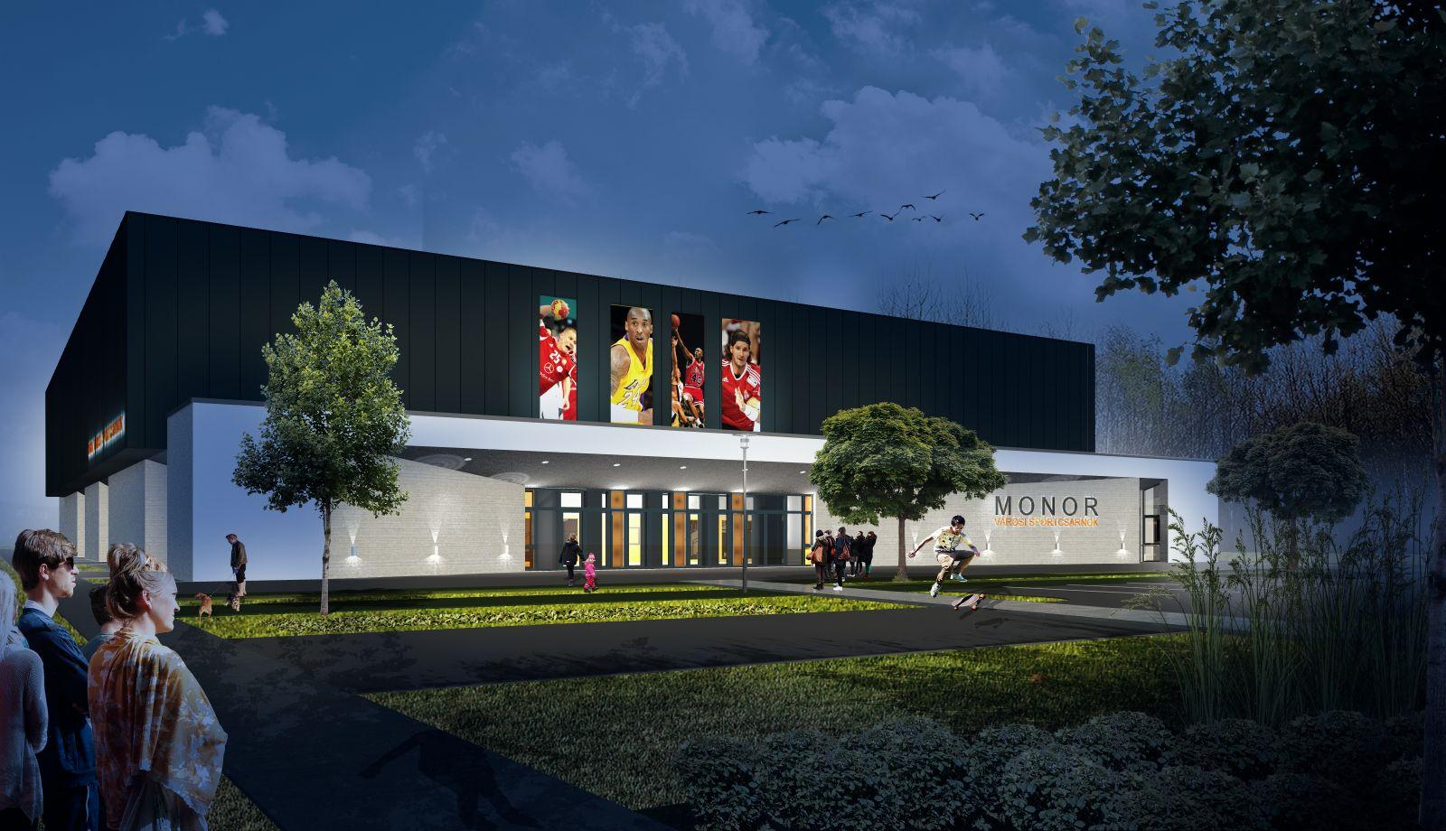 Elkészültek a városi sportcsarnok végleges tervei
