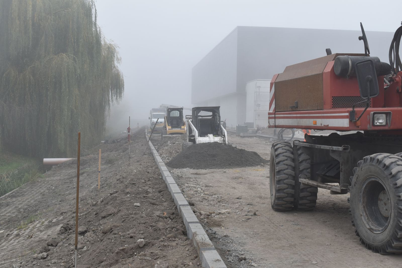 Megkezdődött a Balassi utca új szakaszának építése