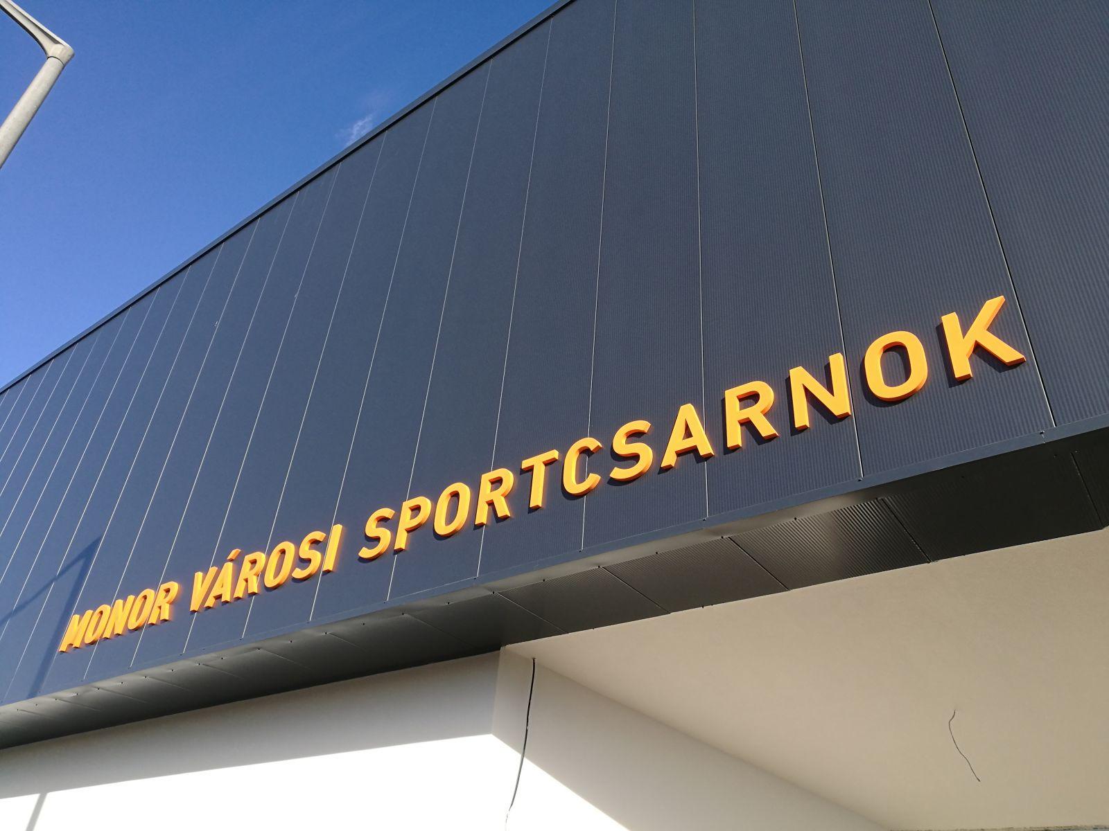 Elkészült a Városi Sportcsarnok