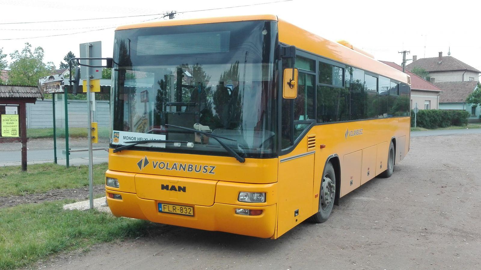 Május másodikán újraindult a helyi buszjárat