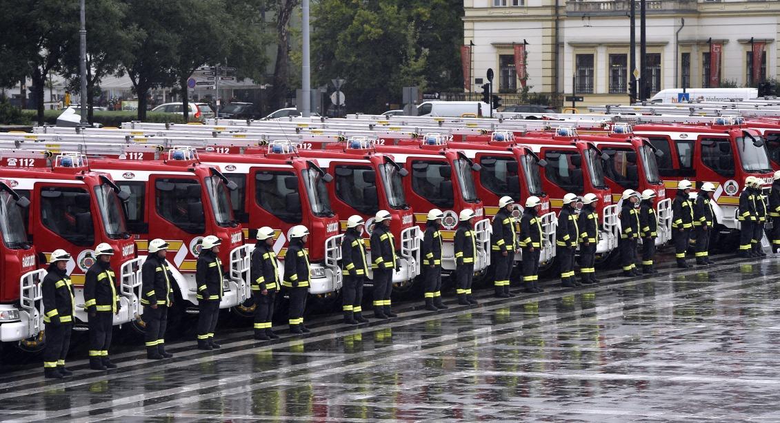 Új gépjárművet kapnak a monori tűzoltók