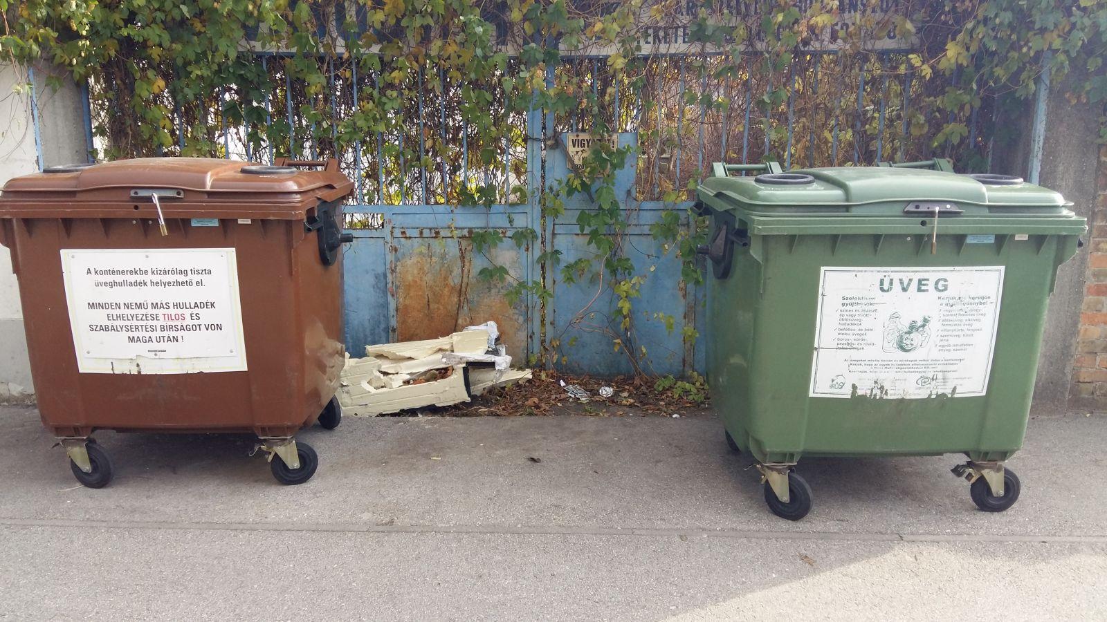 Tájékoztató a szelektív hulladékgyűjtésről