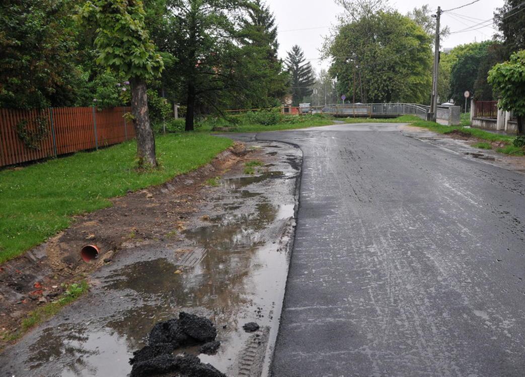 Pályázati forrásból oldódhat meg egy újabb városrész vízelvezetése
