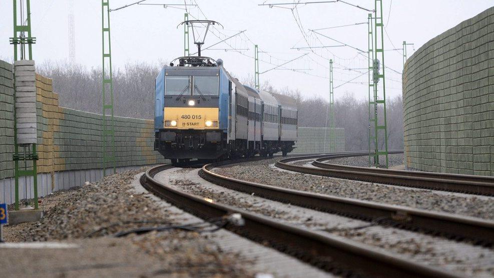 Hétvégén karbantartás miatt módosul a vasúti menetrend
