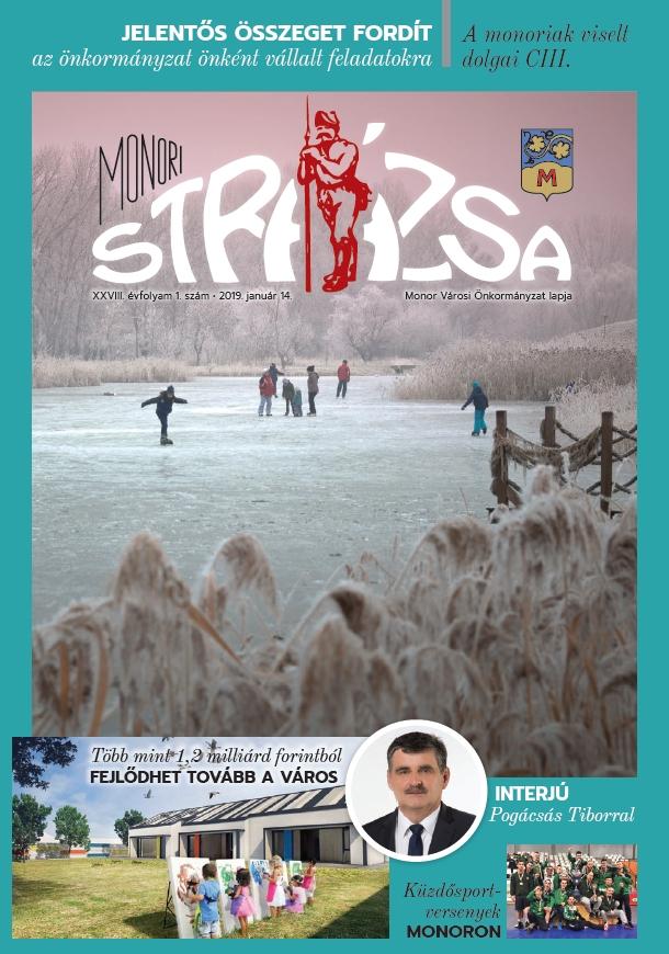 Megjelent a Strázsa újság idei első száma
