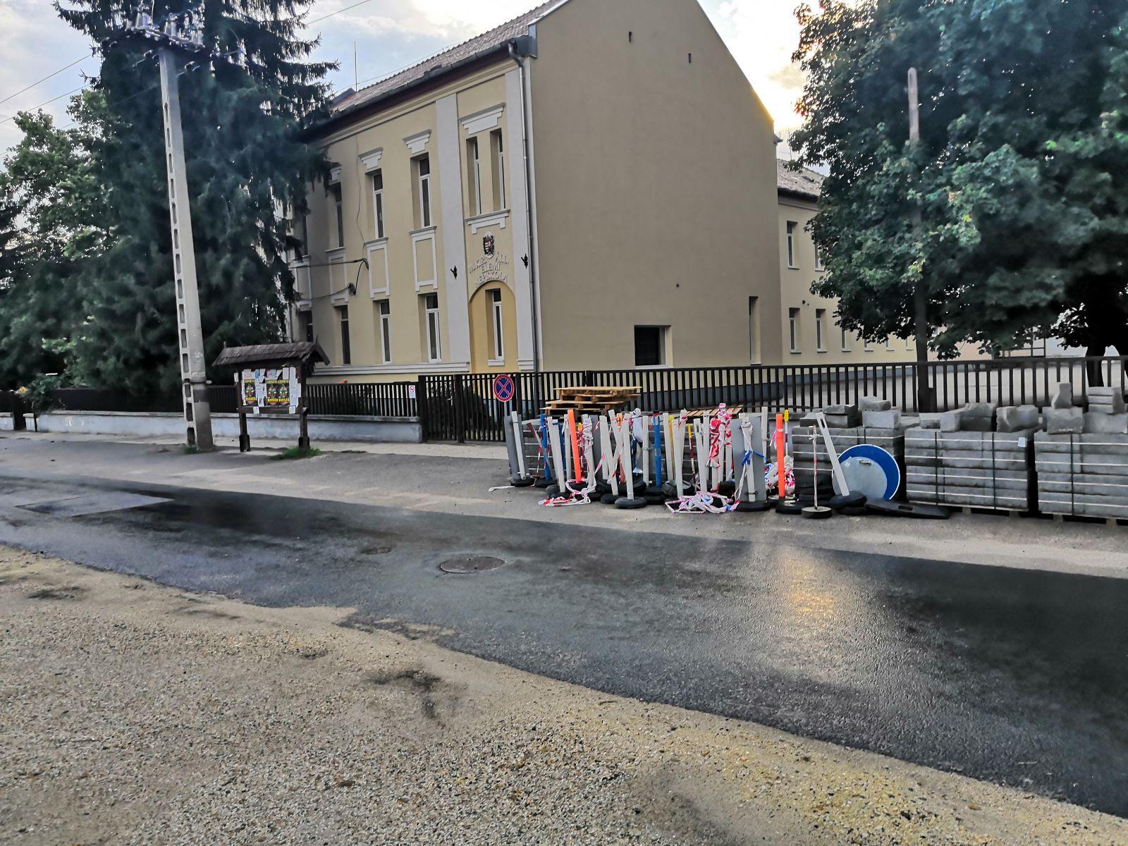 Kezdődik a Nemzetőr utca felújítása